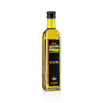 Bondor řepkový olej, za studena lisovaný, 500 ml