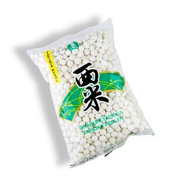 Tapioka perly bílé - 7mm, 400 g