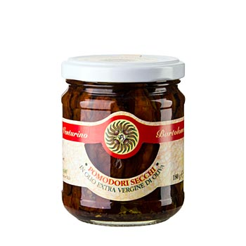 Sušená rajčata v extra panenském olivovém oleji, Venturino, 180 g