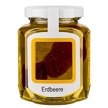 Akátový med se sušenými jahodami 250g
