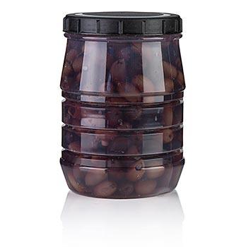 Černé olivy bez pecky,odrůda Kalamata,od Linos, 1,5 kg