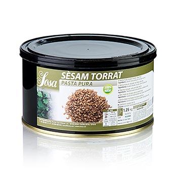 Sezamová pasta, praž. (sezam Torrat), Sosa, 1,25 kg