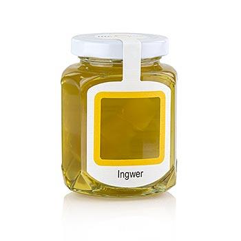 Akátový med se sušeným zázvorem 250g