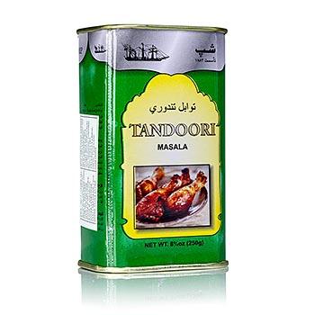 Tandoori masala koření mix, prášek, Poonjiaji, 250g