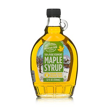 Javorový sirup, zlatý, Vermont, 354ml