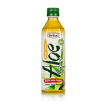 Aloe Vera Drink, Mangogeschmack, 500ml, Grace, 500 ml