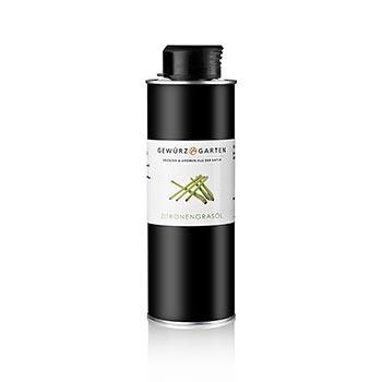 Řepkový olej s citrónovou trávou, Gewürzgarten, 250 ml