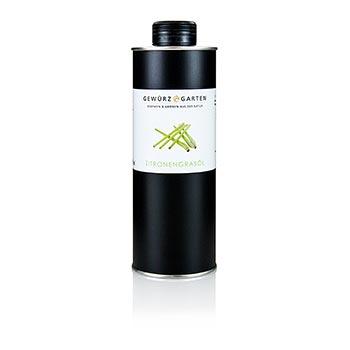 Řepkový olej s citrónovou trávou, Gewürzgarten, 500 ml